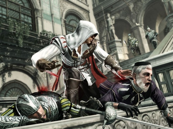 You shoulda checked for a rape whistle Ezio
